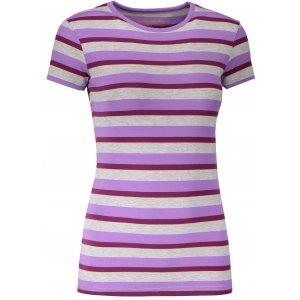 Dámské triko s krátkým rukávem ALPINE PRO PENSIERI 2 LTSJ186 TMAVĚ FIALOVÁ
