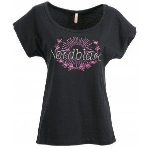 Dámské tričko NORDBLANC LAUREL NBSLT6232 ČERNÁ