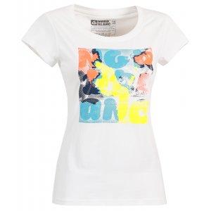Dámské tričko NORDBLANC SAP NBSLT6218 BÍLÁ