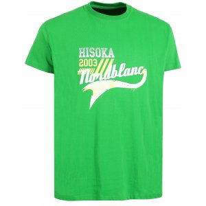 Pánské tričko NORDBLANC HISOKA NBSMT6207 AMAZONSKÁ  ZELENÁ