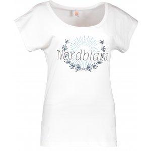 Dámské tričko NORDBLANC LAUREL NBSLT6232 BÍLÁ