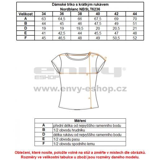 Dámské tričko NORDBLANC DECOR NBSLT6236 KORSICKÁ ZELENÁ
