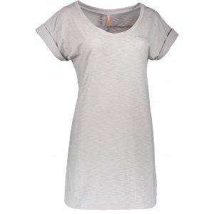 Dámské šaty NORDBLANC ALLOW NBSLD6256 SVĚTLE ŠEDÝ MELÍR