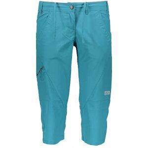 Dámské 3/4 kalhoty NORDBLANC RITZY NBSPL6134 ZELENÝ SMARAGD