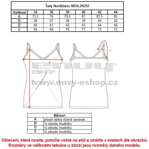 Dámské šaty NORDBLANC SPRUCE NBSLD6257 CITRÓNOVÁ ZELENÁ