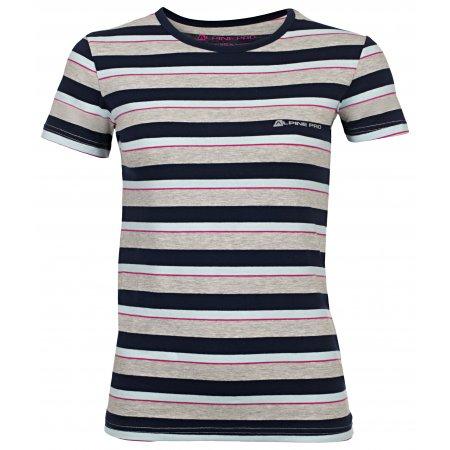 Dámské triko s krátkým rukávem ALPINE PRO PENSIERI 2 LTSJ186 MODRÁ