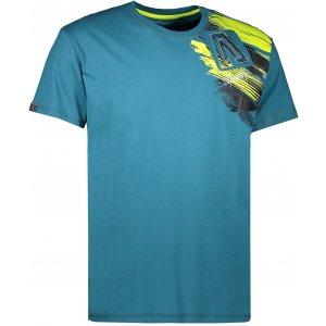 Pánské triko s krátkým rukávem ALTISPORT MOVEL ALMS17073 TYRKYSOVÁ