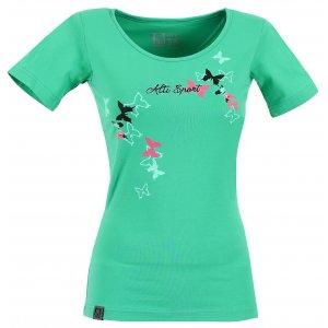 Dámské triko s krátkým rukávem ALTISPORT TIMELI ALLS17060 ZELENÁ