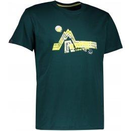 Pánské triko s krátkým rukávem ALTISPORT KENDAR ALMS17069 ZELENÁ