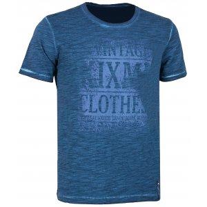 Pánské triko s krátkým rukávem KIXMI CALLIS AAMTS17151 TMAVĚ MODRÁ