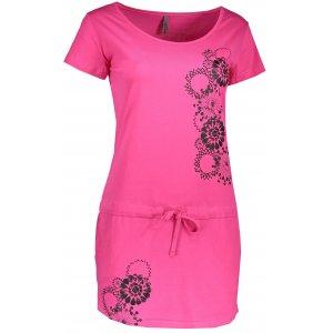 Dámské šaty ALTISPORT SURNA ALLS17100 RŮŽOVÁ