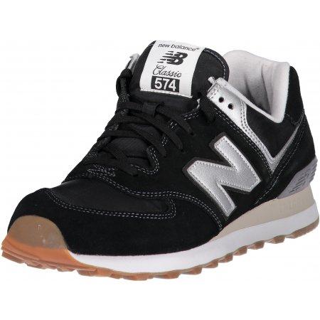 Pánská volnočasová obuv NEW BALANCE ML574HRM ČERNÁ