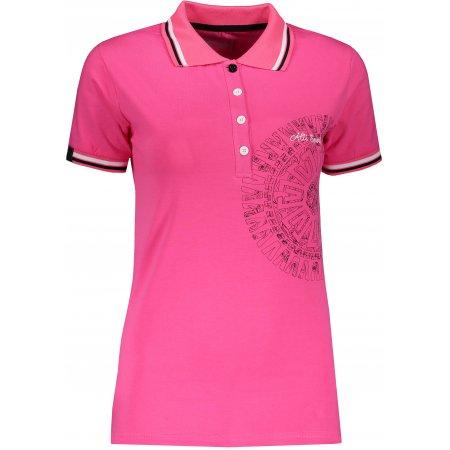 Dámské triko s límečkem ALTISPORT ALIARA RŮŽOVÁ