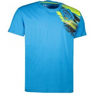 Pánské triko s krátkým rukávem ALTISPORT MOVEL ALMS17073 MODRÁ