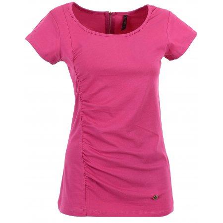 Dámské triko s krátkým rukávem KIXMI CLAIRE AALTS17106 RŮŽOVÁ