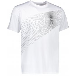 Pánské funkční triko ALTISPORT MENJAR ALMS17041 BÍLÁ