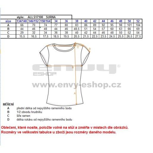 Dámské šaty ALTISPORT SURNA ALLS17100 ČERNÁ