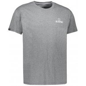 Pánské triko s krátkým rukávem ALTISPORT HITUL ALMS17076 ŠEDÝ MELÍR