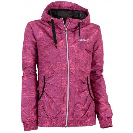 Dívčí outdoorová bunda ALTISPORT BIRIDA-J ALJS17005 RŮŽOVÁ