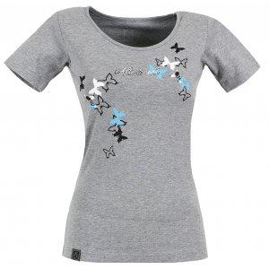 Dámské triko s krátkým rukávem ALTISPORT TIMELI ALLS17060 ŠEDÝ MELÍR