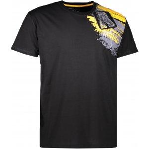 Pánské triko s krátkým rukávem ALTISPORT MOVEL ALMS17073 ČERNÁ