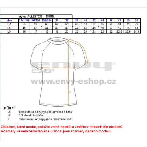 Dámské funkční triko ALTISPORT TIKIRI ALLS17033 BÍLÁ