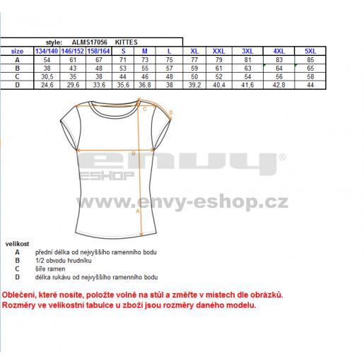 Pánské triko s límečkem ALTISPORT KITTES ALMS17056 MODRÁ