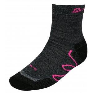 Ponožky ALPINE PRO AMIRAH USCK020 RŮŽOVÁ