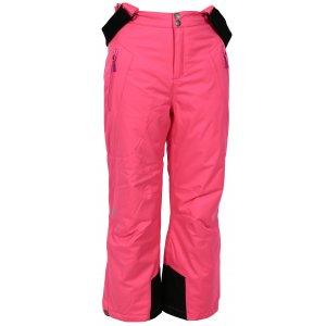 Dětské lyžařské kalhoty ALPINE PRO ANIKO KPAK091 RŮŽOVÁ