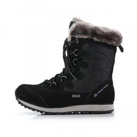 Dámské zimní kotníkové boty ALPINE PRO ALLYSON LBTK144 ČERNÁ