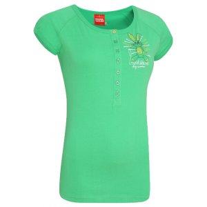 Dámské tričko s krátkým rukávem NORDBLANC NBFLT2832 RAZER ZELENÁ