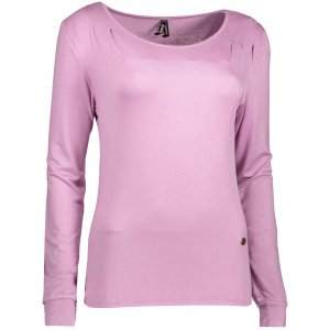 Dámské triko s dlouhým rukávem KIXMI DORRI AALTW17106 SVĚTLE FIALOVÁ