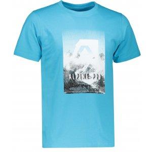 Pánské triko s krátkým rukávem ALPINE PRO ABIC 4 MTSK216 SVĚTLE MODRÁ