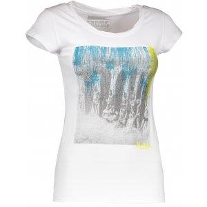 Dámské tričko NORDBLANC NBSLT4386 BÍLÁ