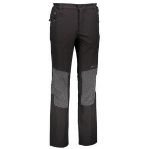 Pánské softshellové kalhoty ALPINE PRO POP MPAK089 ČERNÁ