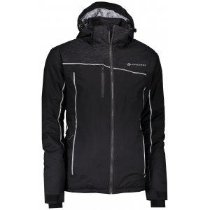 Pánská lyžařská bunda ALPINE PRO DOR MJCK234 ČERNÁ