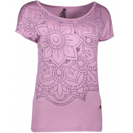 Dámské triko s krátkým rukávem KIXMI DAPHNE AALTW17103 SVĚTLE FIALOVÁ