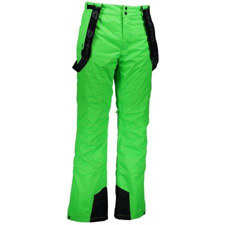 Pánské lyžařské kalhoty ALPINE PRO SANGO 4 MPAK212 ZELENÁ
