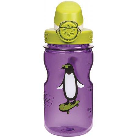 Dětská láhev NALGENE OTF KIDS 350 ml PURPLE PENGUIN