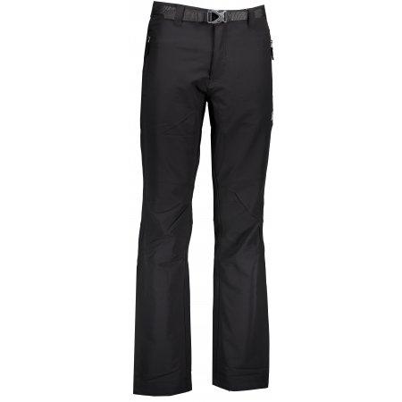 Pánské softshellové kalhoty ALPINE PRO CARB 2 MPAK149 ČERNÁ