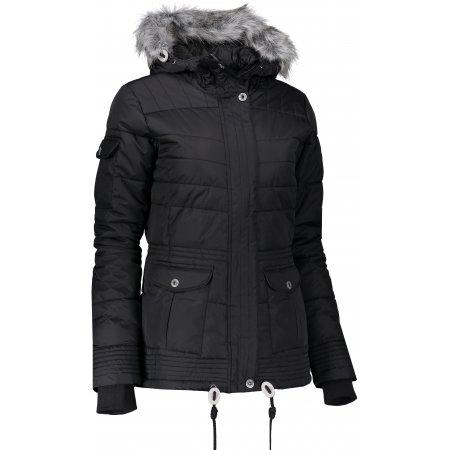Dámská zimní bunda ALPINE PRO ICYBA 3 LJCK181 ČERNÁ