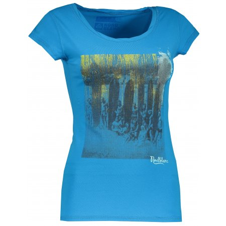 Dámské tričko NORDBLANC NBSLT4386 AZUROVÁ MODRÁ