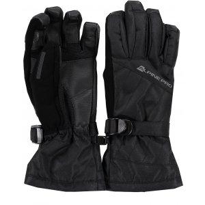 Dámské lyžařské rukavice ALPINE PRO RENA LGLK014 ČERNÁ