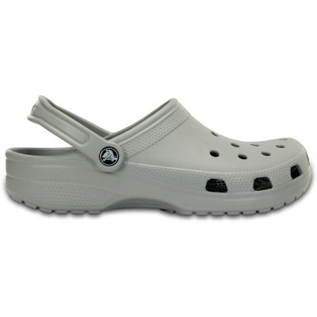 Dámské pantofle CROCS CLASSIC 10001-007 LIGHT GREY