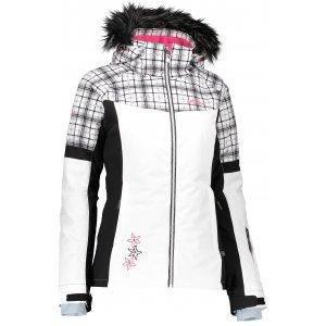 Dívčí zimní bunda ALTISPORT DARATI-J ALJW17004 BÍLÁ