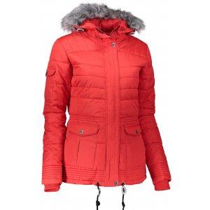 Dámská zimní bunda ALPINE PRO ICYBA 3 LJCK181 ČERVENÁ