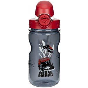 Dětská láhev NALGENE OTF KIDS 350 ml GRAY SMASH