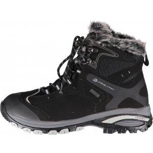 Dámské zimní kotníkové boty ALPINE PRO BONA LBTK083 ČERNÁ