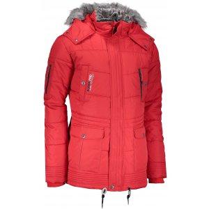 Pánská zimní bunda ALPINE PRO ICYB 3 MJCK211 ČERVENÁ