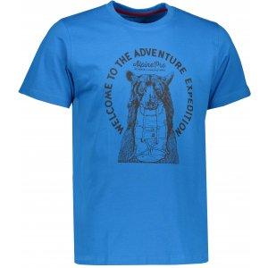 Pánské triko s krátkým rukávem ALPINE PRO ABIC 4 MTSK216 MODRÁ